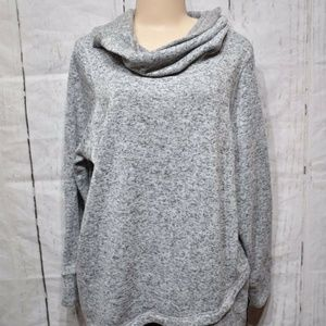 Women's Ideology Cowl-Neck Pullover, Size 2X $38